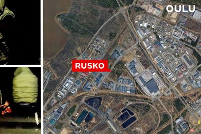 Kojelautakamera tallensi: Hämärä mieskaksikko yritti tunkata autoa yöllä Oulun Ruskon postikeskuksen pihassa