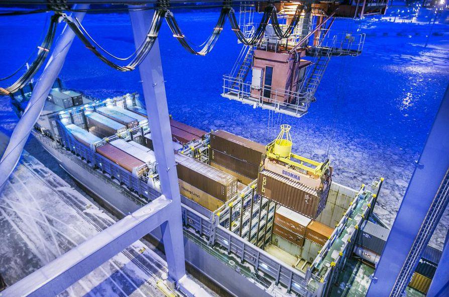 Yva-menettely koskee Oulun meriväylän ja sataman syventämistä.
