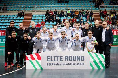 Suomen futsalmaajoukkue pelaa MM-paikasta Serbiaa vastaan