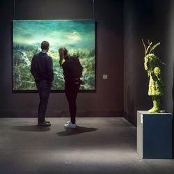Kotimaan matkailijat löysivät Rovaniemen taidemuseon – kävijämäärä pysyi hyvänä koronasta huolimatta