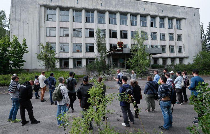 Ukrainan mukaan Tshernobylissä vieraili noin 60000 turistia vuonna 2017.