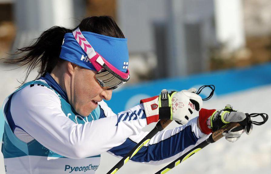 Aino-Kaisa Saariselle Pyeongchangin olympialaiset olivat uran neljännet.