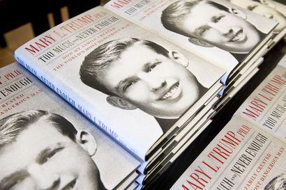 Mary Trumpin paljastuskirja myi ensimmäisenä julkaisupäivänä liki miljoona kappaletta – Donald Trumpin veljentytär kertoo kirjassa olleensa ylpeä nimestään, kunnes siitä tuli Trumpin kiinteistökaupan brändi