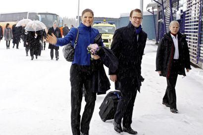 Ruotsin kruununprinsessa Victoria ja hänen puolisonsa Daniel vierailevat Pellossa tiistaina
