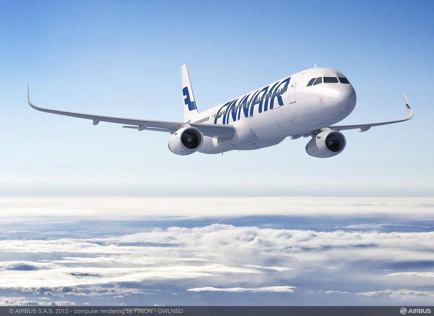 Finnairin vertailukelpoinen liiketulos nousi viime vuonna 170 miljoonaan euroon toissa vuoden 55 miljoonasta eurosta.