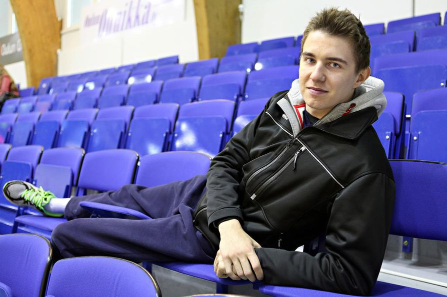 Oulun urheilutalo on Eemi Tervaportille monien muistojen peliareena. Passarin ura lähti pohjoisessa kunnon nousukiitoon.