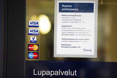 Poliisi jatkaa asetarkastuksia Raahessa entiseen tapaan, mutta pyytää välttämään asiointia poliisiasemalla