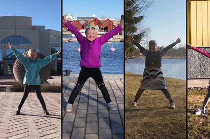Oululaiset tanssivat nyt koronakevään jenkkaa – kansantanssijoiden sata videota ovat kuin koronakevään postikortti valkeasta kaupungista