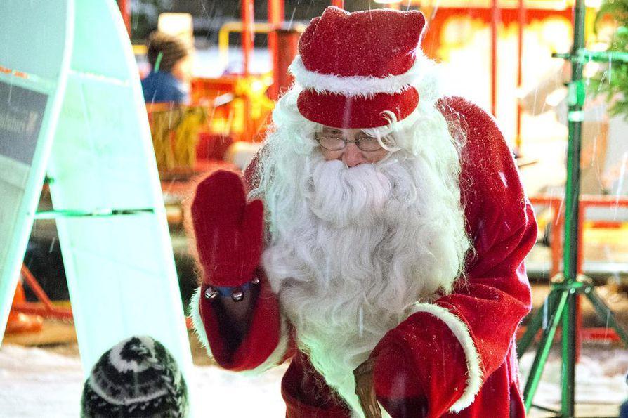 Joulupukin voi bongata jo hyvissä ajoin ennen jouluaattoa.