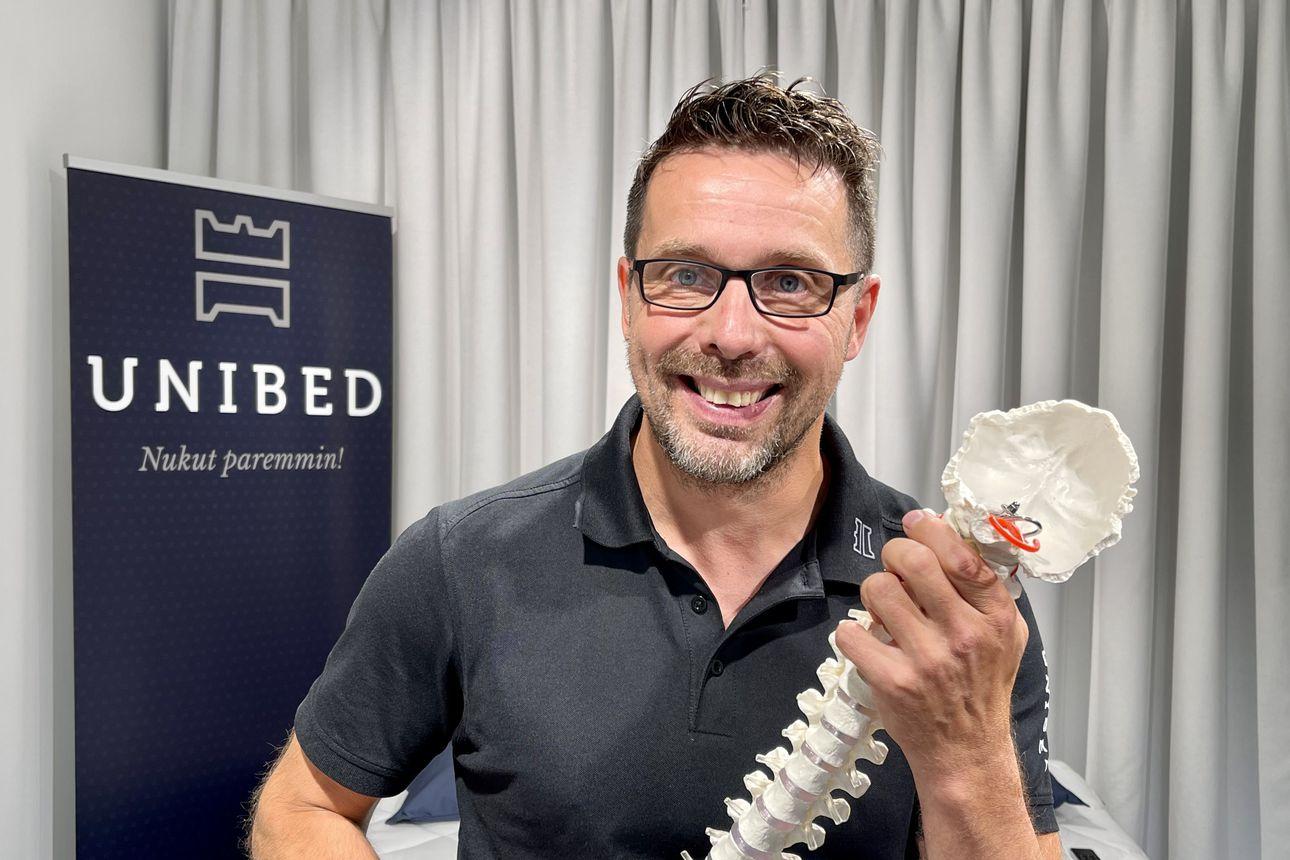"""Unibed on uniergonomian asiantuntija ‒ """"Autamme ihmisiä nukkumaan paremmin"""""""