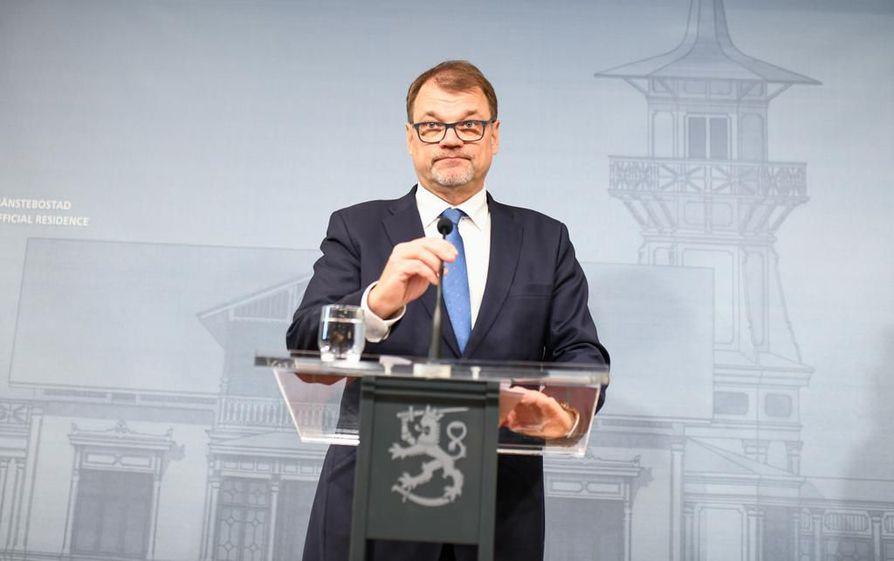 Pääministeri Juha Sipilä (kesk.) päätti, että hallitus eroaa sote-uudistuksen kaatumisen vuoksi.